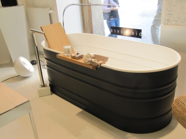 Stunning Galvanized Bathtub Very Modern Tub Or Stock Tank Cattle Trough On My Own And Bath