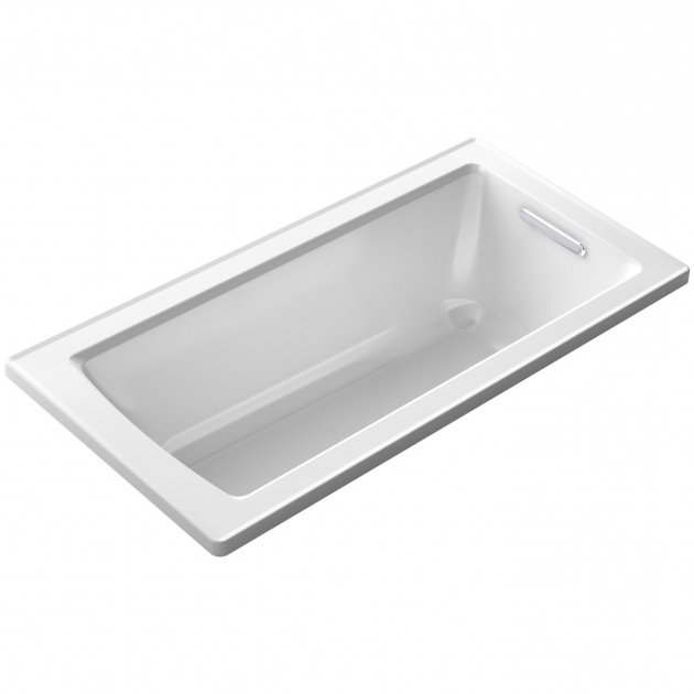 Stunning Kohler Soaking Tubs Deep Kohler Archer 60 X 30 Soaking Bathtub Reviews Wayfair