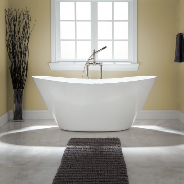 Stunning Stand Alone Soaking Tub Freestanding Tubs Soaking Tubs Signature Hardware