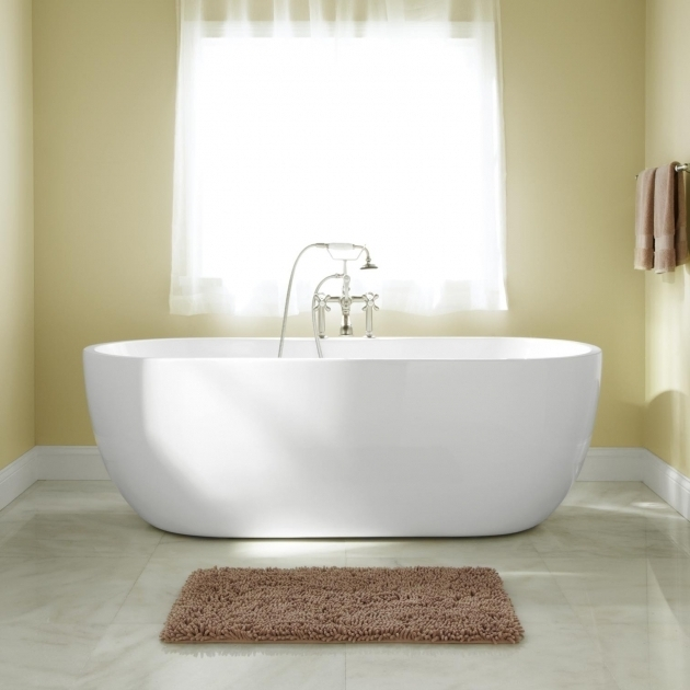 Stylish 60 Freestanding Soaking Tub Freestanding Tubs Soaking Tubs Signature Hardware
