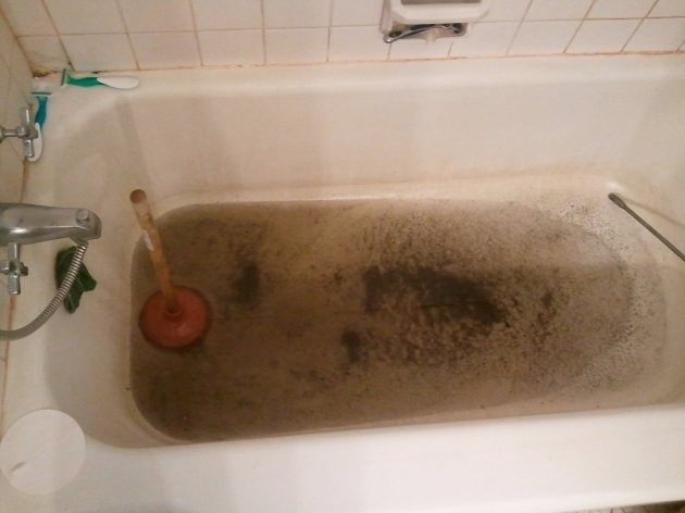 Stylish Drano For Bathtub Plumbers My Tub Is Completely Backed Up Water Doesnt Go Down