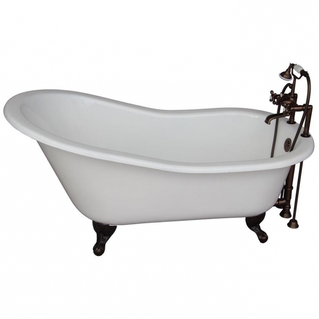 Wonderful Fiberglass Clawfoot Tub Clawfoot Tubs Freestanding Tubs The Home Depot