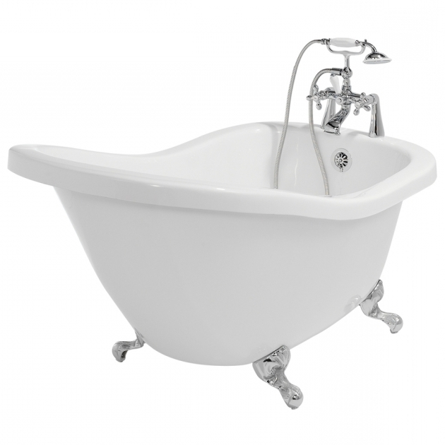 Wonderful Fiberglass Clawfoot Tub Shop American Bath Factory 59 In X 31 In Chelsea White Round