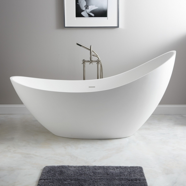 Wonderful Resin Bathtubs 73 Ballico Resin Freestanding Slipper Tub Bathroom