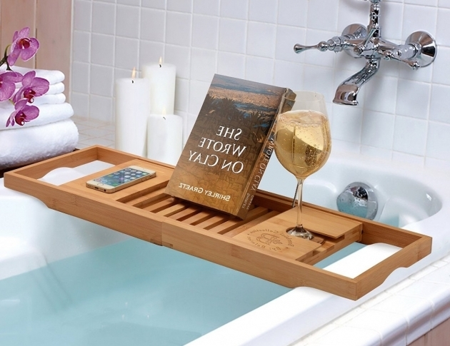 Alluring Bathtub Book Holder Bathtub Book Caddy Icsdri