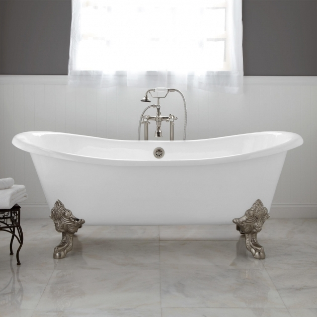 Alluring Cheap Clawfoot Tub Bathroom Cast Iron Clawfoot Bathtub For Sale Clawfoot Bathtub