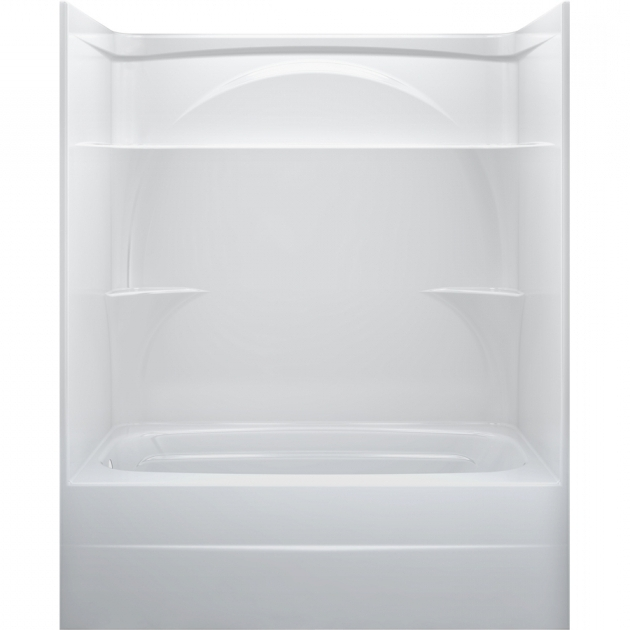 Alluring Lowes Bathtubs And Shower Combo Shop One Piece Showers At Lowes