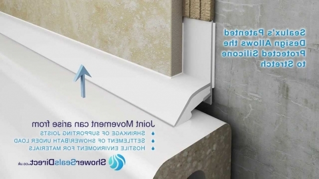 Amazing Bathtub Trim Molding See How Sealux Is Like No Other Bathroom Tiling Trim On The Market