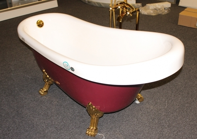 Amazing Clawfoot Tub Feet Parts Classic Clawfoot Tub W Regal Brass Lion Feet Gold Telephone