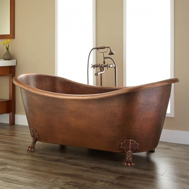 Amazing Double Slipper Clawfoot Tub Isabella Copper Double Slipper Clawfoot Tub Bathroom