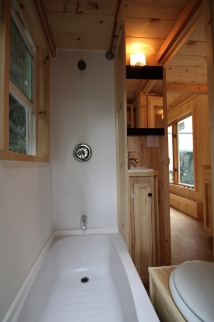 Amazing Tiny House Bathtubs Molecule Tiny Homes