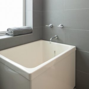 Square Soaking Tub