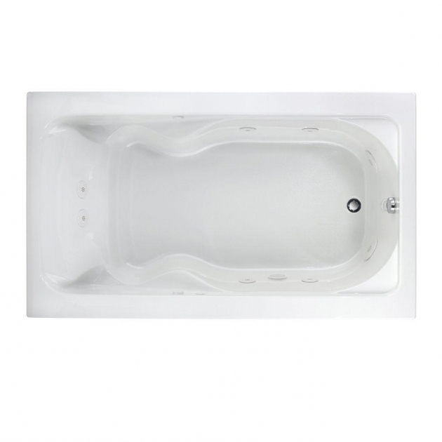 Fantastic 72 Inch Whirlpool Tub American Standard Everclean 6 Ft X 36 In Reversible Drain