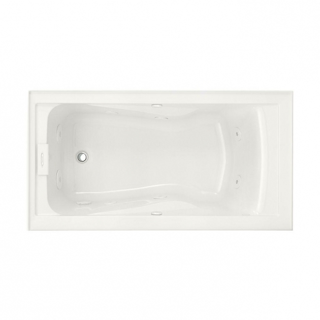 Fantastic Alcove Whirlpool Tub Whirlpool Tubs Bathtubs Whirlpools The Home Depot