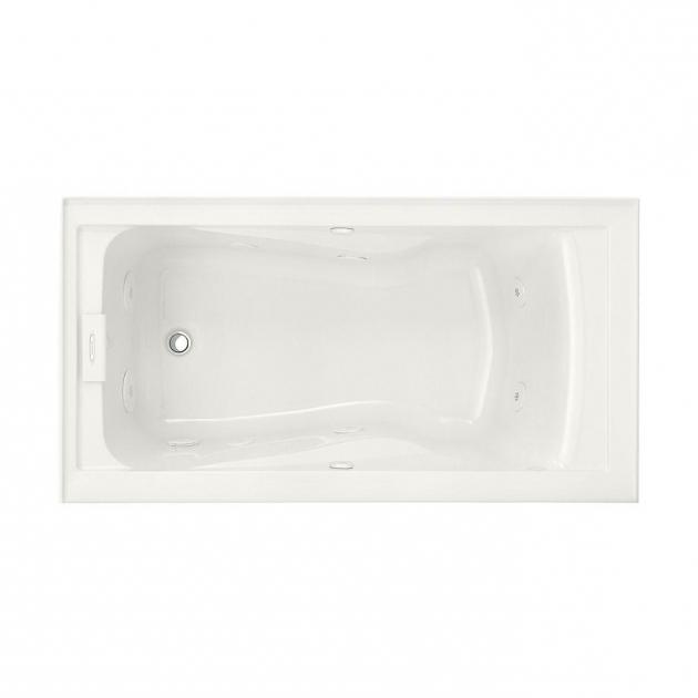 Fantastic Alcove Whirlpool Tub Whirlpool Tubs Bathtubs Whirlpools The Home Depot
