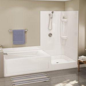 Soaking Tub Shower Combination