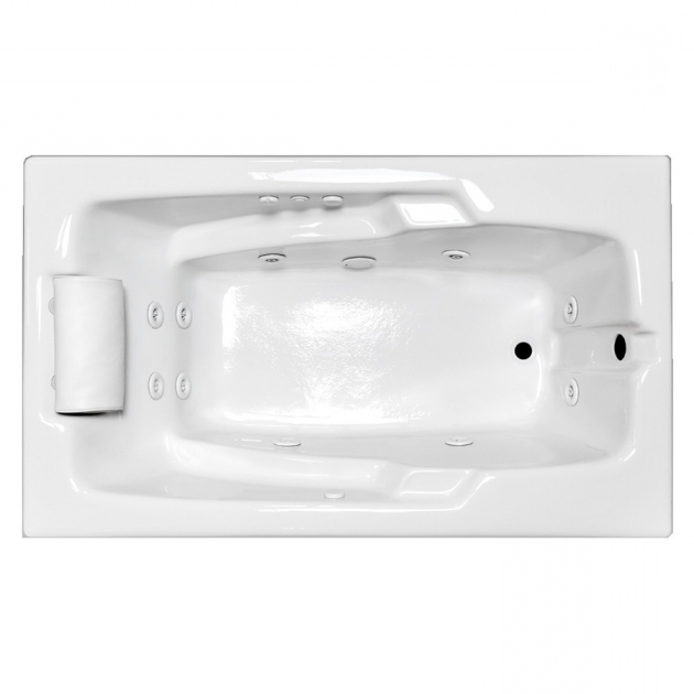 Fascinating 72 Inch Whirlpool Tub Shop Laurel Mountain Mercer Iii 72 In White Acrylic Drop In