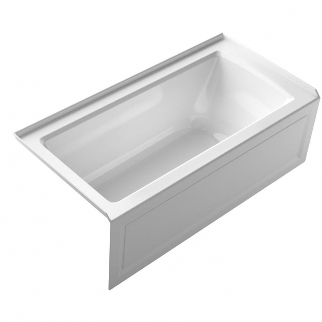 Fascinating Bootzcast Bathtub Bootz Industries Bootzcast 5 Ft Left Drain Soaking Tub In White