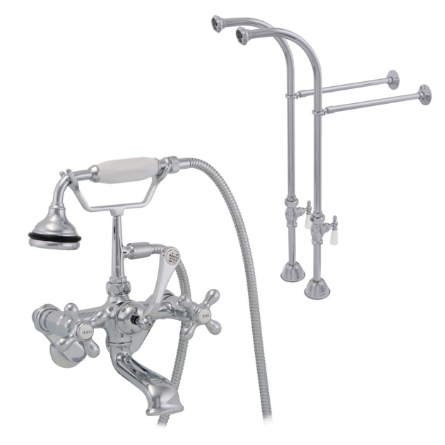 Fascinating Faucets For Clawfoot Tubs Morris Freestanding British Telephone Clawfoot Tub Faucet W