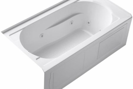 Alcove Whirlpool Tub