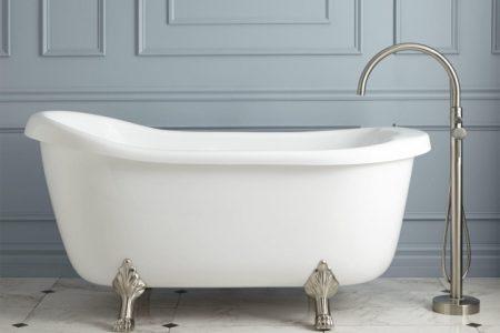 Clawfoot Whirlpool Tub