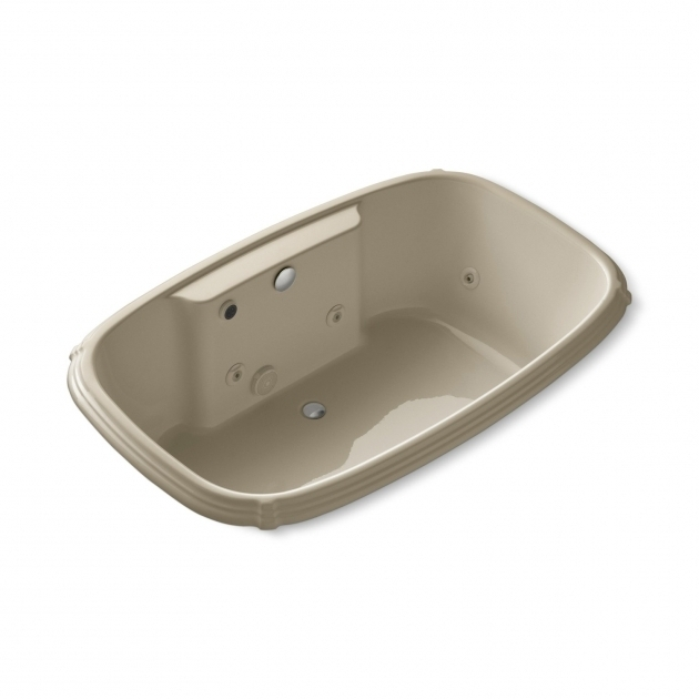 Gorgeous Kohler Whirlpool Tubs Kohler K 1457 H2 Portrait 67 X 42 Drop In Whirlpool Bath Tub With