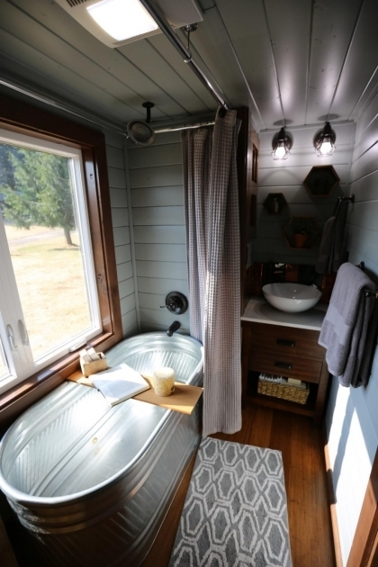 Gorgeous Tiny House Bathtubs As Seen On Season 1 Of Tiny Luxury This Spacious Spa Like