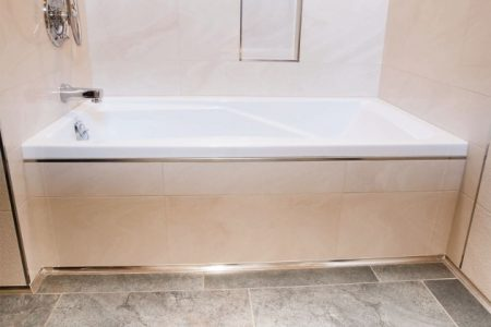 Bathtub Floor Trim