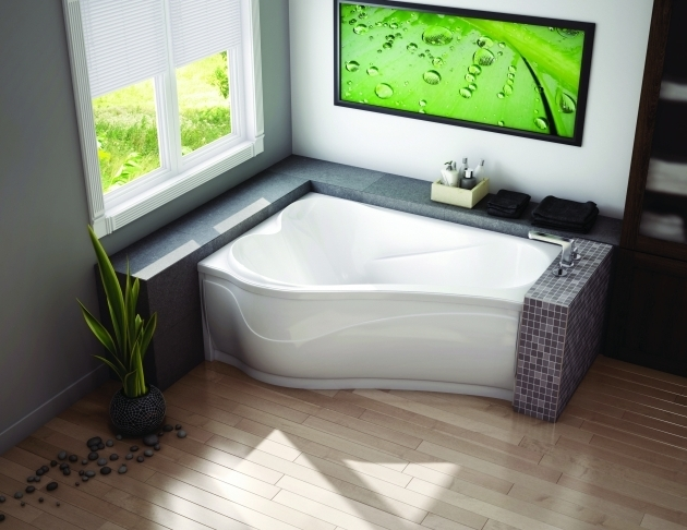 Inspiring Fiberglass Soaking Tub Two Person Corner Soaking Tub Decofurnish