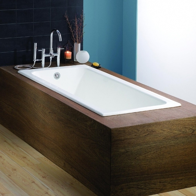 Inspiring How Wide Is A Bathtub Idea For 2nd Floor Bathroom Cheviot Cast Iron Drop In Tub White