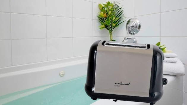 Inspiring Toaster Bathtub Pushing Toaster In A Bathtub Youtube