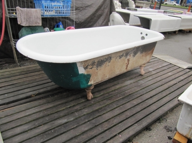 Inspiring Used Clawfoot Tubs Bathroom Interesting Clawfoot Tub For Beautify Your Bathroom