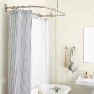 Clawfoot Tub Shower Conversion Kit