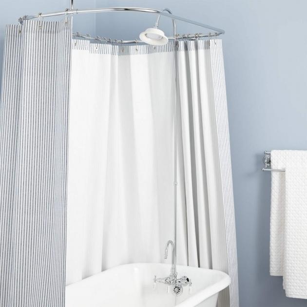 Marvelous Clawfoot Tub Shower Conversion Kit Gooseneck Clawfoot Tub Shower Conversion Kit Bathroom
