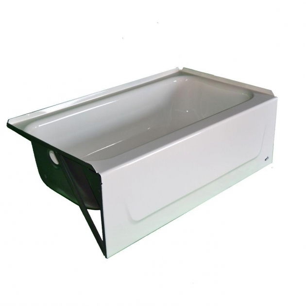 Outstanding 54 Inch Bathtub Bootz Industries Honolulu 46 12 In Left Hand Drain Soaking Tub