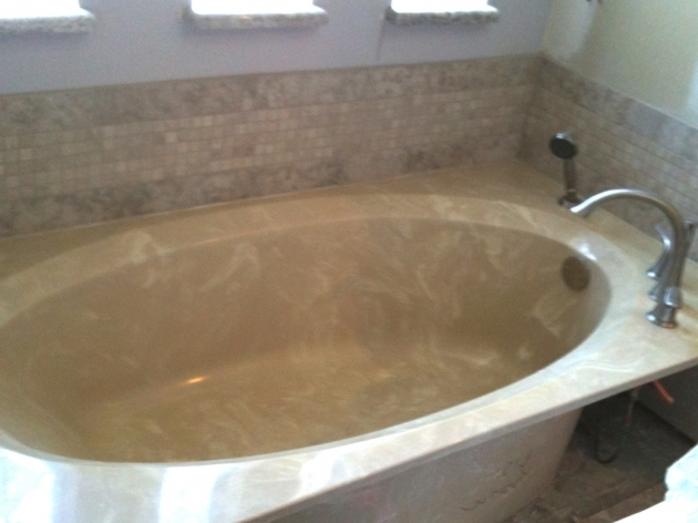 Outstanding Cultured Marble Bathtub Cultured Marble Tub Is Resurfaced Kohler White Decorating On A