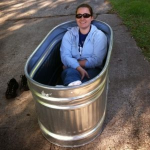Galvanized Soaking Tub