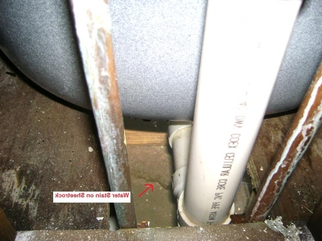 Outstanding Water Coming Up Through Bathtub Drain How To Fix A Shower Leak Behind The Wall