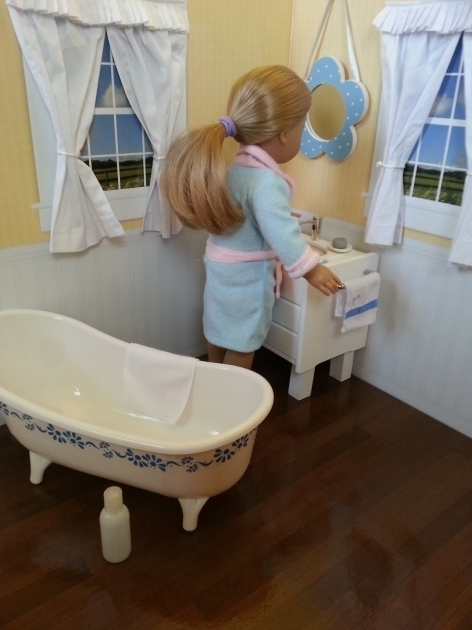 Picture of 18 Inch Doll Bathtub Fun With Ag Fan Craft Make A Toilet For Your Doll
