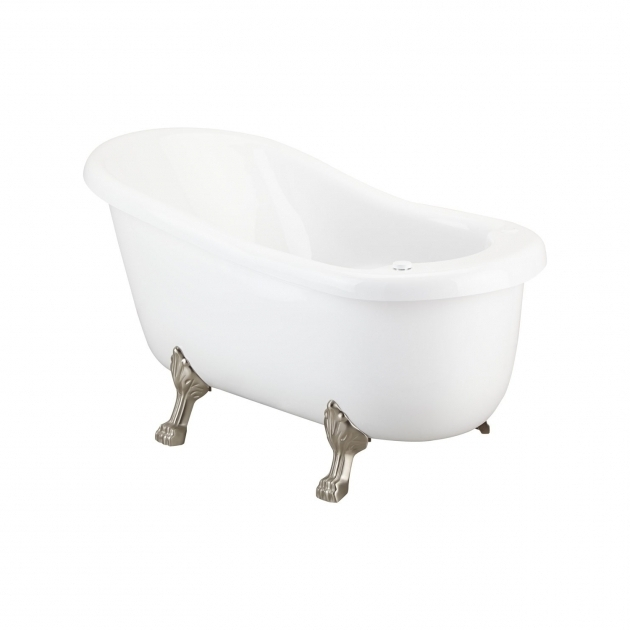 Picture of Clawfoot Whirlpool Tub Pearson Acrylic Clawfoot Whirlpool Tub Bathroom