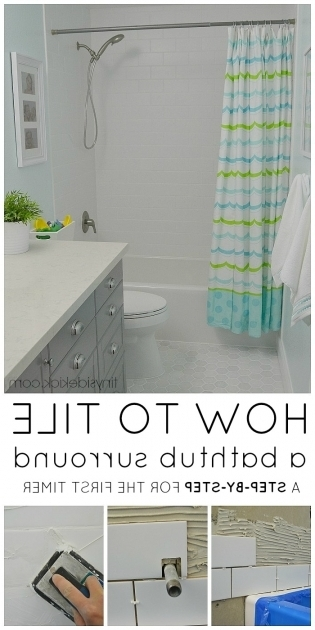 Picture of How To Tile A Bathtub How To Tile A Tub Surround