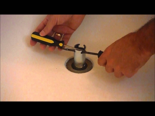Picture of Replacing Bathtub Drain Replace A Bathtub Drain Basket Youtube