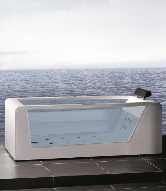 Picture of See Through Bathtub Atlas Usa Ariel Stylish And Modern See Through Whirlpool Bathtub