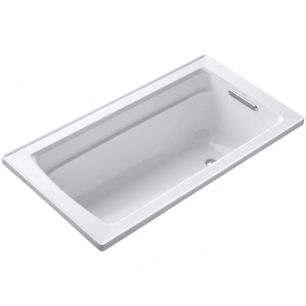 Picture of Soaking Tub Dimensions American Standard Evolution 6 Ft X 36 In Reversible Drain