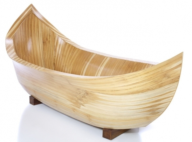 Picture of Wood Soaking Tub Wooden Bathtubs Nifty Homestead
