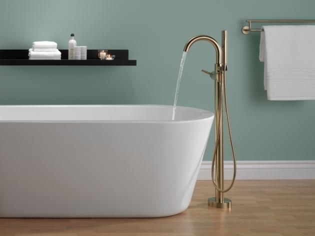 Stylish Delta Bathroom Trinsic Bathroom Collection