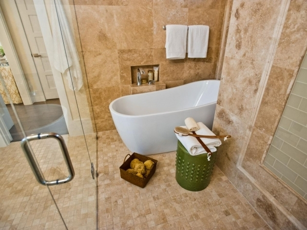 Stylish Small Soaking Tub Shower Combo Tub And Shower Combos Pictures Ideas Tips From Hgtv Hgtv