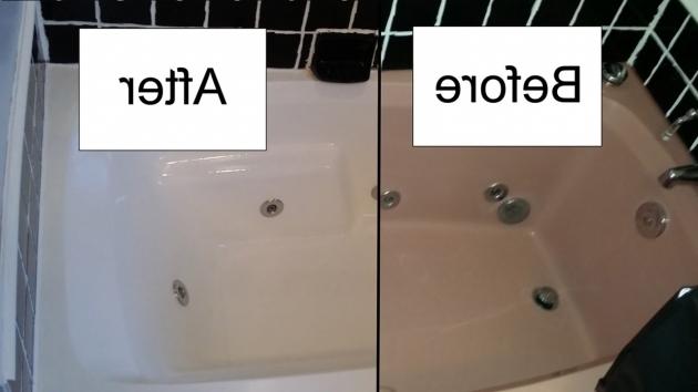 Wonderful Bathtub Spray Paint How To Refinish A Bathtub With Rustoleum Tub And Tile Kit Youtube