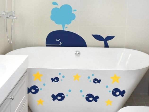 Alluring Bathtub Decals Bathtub Decals Cfields Interior