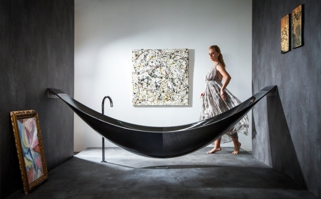 Alluring Carbon Fiber Bathtub Vessel A Carbon Fiber Bathtub Shaped Like A Hammock